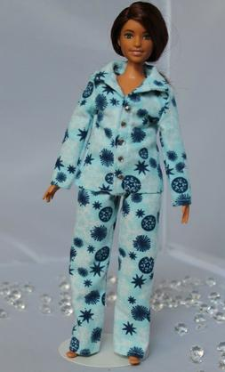 """#049 Clothes for Curvy Barbie Doll White /""""Mickey Mouse/"""" print dress for Dolls."""