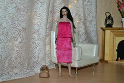 1:12 Doll Clothes Fits TBLeague PHICEN Seamless Med Bust Siz