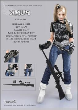 Artcreator_BM 1/6 Action Figure Female Punk Sniper Clothing