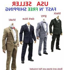 "1/6 SCALE Suit Clothes Set For 12"" Male Action Figure Doll"