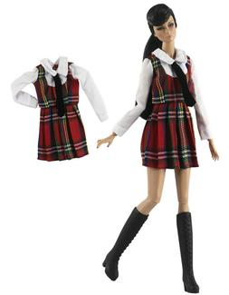 1 Set Fashion Doll Clothes Dress Outfit for 11.5 in. Doll