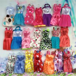 10 pcs/set Fashion Party Daily Wear Dress Outfits Clothes Fo