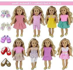 ZITA ELEMENT Lot 10 = 8 Clothes +2 Shoes   Clothes Accessori
