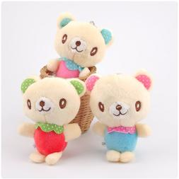 10cm Cartoon Mini Bear Colorful <font><b>Clothes</b></font>