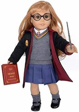 ebuddy 10pc Set Hermione Inspired Doll Clothes Outfits for 1
