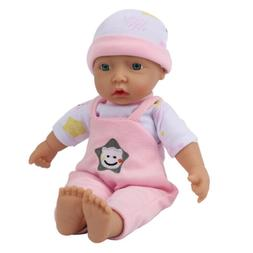 11'' Grown Up Soft Cloth Vinyl Silicone Baby Reborn Dolls To