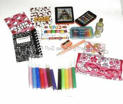 "12 Back To School Supplies 18"" Doll Clothes Accessories For"