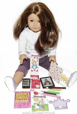 12 PC School Supplies Set For 18 in American Girl Doll Cloth