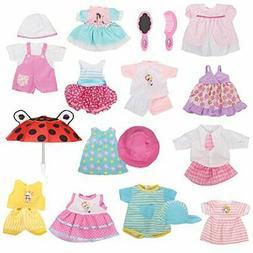 12 pcs set handmade lovely baby doll