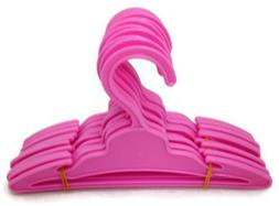 12 Pink Hangers with Slit made for 18 inch American Girl Dol