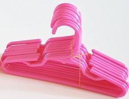 12 Pink Plastic Doll Hangers Fits 18 Inch American Girl Doll
