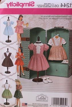 Simplicity Creative Patterns 1244 Vintage 18-Inch Doll Cloth