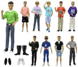 ZITA ELEMENT 13 Items of Ken Doll Accessories with Mix and M