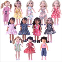 14.5 inch American Girl Doll Clothes Accessories Handmade Dr