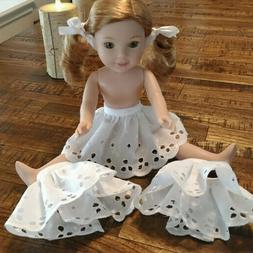 14 inch doll clothes 4935 eyelet half