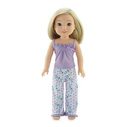 Emily Rose 14 Inch Doll Clothes | Dragonfly Print 2 Piece Do