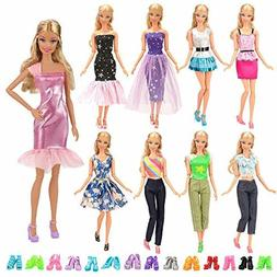 15 Items BARWA 5 Sets Fashion Casual Wear Clothes Outfit Par