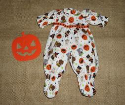 "Handmade Doll Clothes for 16"" - 18"" Baby Dolls - ""Halloween"
