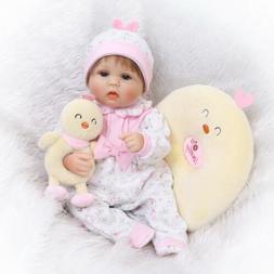 16'' Newborn Reborn Baby Dolls Handmade Vinyl Silicone Gift