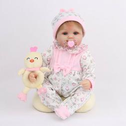 16'' Newborn Reborn Baby Dolls Lifelike Vinyl Silicone Gift