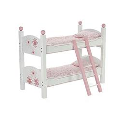 18 Inch Doll Furniture | 2 Single Beds! - Stackable Bunk Bed