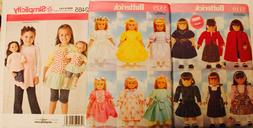 "18"" AMERICAN GIRL DOLL CLOTHES ~ Sewing Pattern UC ~ YOU PIC"