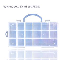 Gbell 18 Compartments Storage Case Carrying Box Accessories