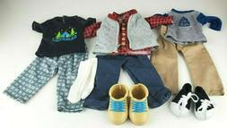 """My Life As 18"""" Doll BOY Clothes - Lot of 3 Outfits - Hiking"""