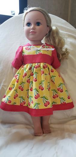 "18"" doll new handmade sweet summer dress fits like American"