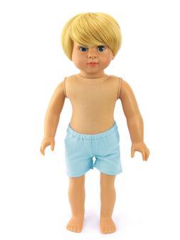 18 in American Fashion Works AFW Caden doll blond hair blue