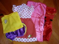 ZWSISU 18-Inch 4 Outfits Clothes Fits American Girl Doll