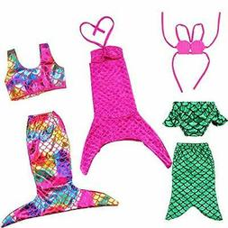 BARWA 18 Inch Doll Clothes Accessories 3 Sets Princess Merma
