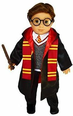 18 Inch Doll Clothes Harry Potter Outfit for American Girl,