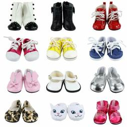Barwa 18 Inch Doll Shoes 5 Pairs Of Shoes Accessories For 18
