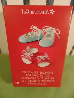 American Girl 18 Inch Doll Shoes Sneakers And Flats Set New