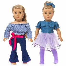 ZITA ELEMENT 2 Sets Fashion Doll Clothes / Dress for America