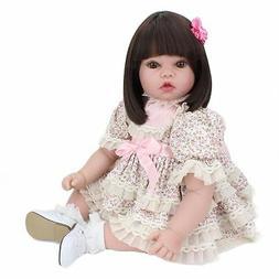 20'' Soft Vinyl Silicone Toddler Reborn Baby Girl Doll Likel