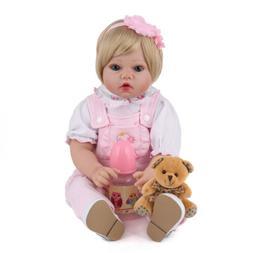 20'' Vinyl Silicone Reborn Baby Doll Newborn Girl Toddler Do
