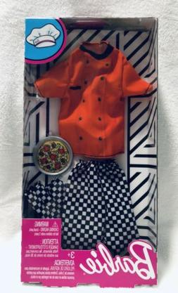 2018 Barbie Ken Doll Complete Look Fashion Pack Career Pizza