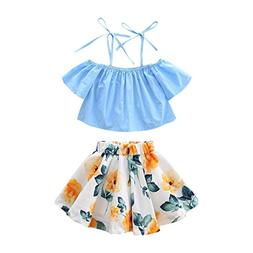Lurryly 2018 Baby Girl Summer Toddler Girls Strap Off Should