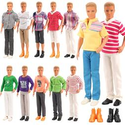 2019 Newest 5 Items /lot= 3 Ken <font><b>Doll</b></font> <fo