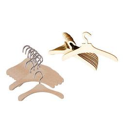 20pcs Wooden Doll Wooden Clothes Hanger for 12'' Blythe Doll