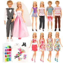Barwa 23 Pcs Doll Clothes and Accessories,Great value for