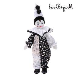 23cm Funny Clown Man Wearing High-grade Brocade <font><b>Clo