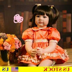24'' Reborn Toddler Princess Girl Doll Handmade Realistic Vi