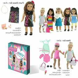 Doll Club of America 28 Piece Holiday Lot Fits 18-Inch Ameri