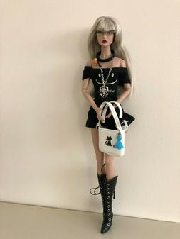 3 pcs outfit/necklace Set for FR FR2 Fashion Royalty Doll Po