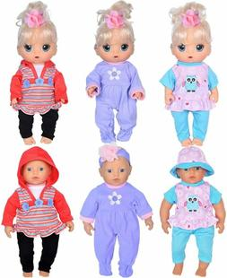 ebuddy 3-Set Playtime Outfits with 3pcs Squeeze Sound Toys f