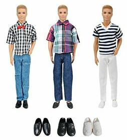 XADP 3 Sets Fashion Casual Wear Clothes Outfit Pants with 3