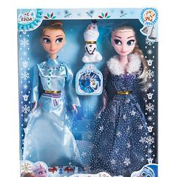 30cm Elsa <font><b>Doll</b></font> Anna Boneca With Beautifu